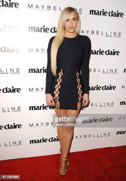 Stassie Karanikolaou attends Marie Claire's Fresh Faces event at Doheny Room on April 21 2017 in West Hollywood California