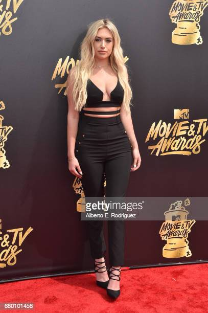 Stassie Karanikolaou attends the 2017 MTV Movie And TV Awards at The Shrine Auditorium on May 7 2017 in Los Angeles California