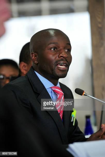 State advocate Tebogo Hutamo during the Life Esidimeni arbitration hearing at Emoyeni Conference Centre Parktown on October 09 2017 in Johannesburg...