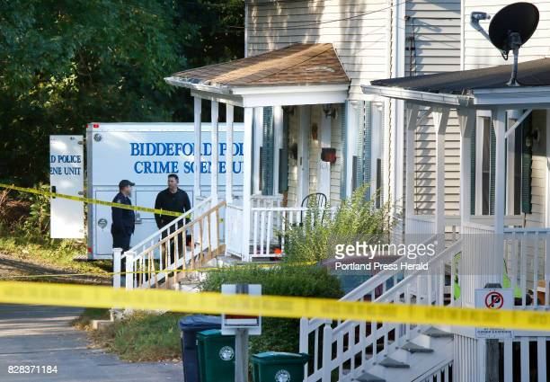 State and Biddeford police are investigating the shooting death of a man early this morning at 6870 West Cutts Street in Biddeford Dead is 30yearold...