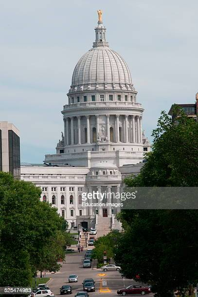 State Capitol building Madison Wisconsin