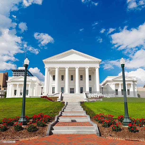 State Capitol Building Of Virginia, USA