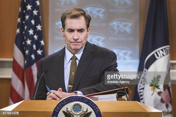 S State Department Spokesperson during the daily press briefing at the State Department in Washington USA on June 16 2015