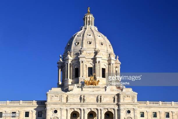State of Minnesota Capitol Building in St.Paul, Minnesota, USA