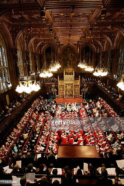 State Opening of Parliament in House of Lords London United Kingdom