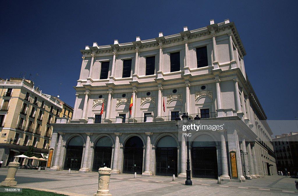 State Opera House in Madrid : Stock Photo