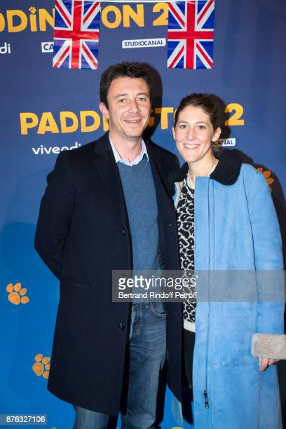State Secretary Benjamin Griveaux and his wife Julia Minkowski attend 'Paddington 2' Paris Premiere at L'Olympia on November 19 2017 in Paris France