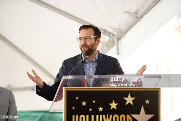 State Senator Ben Allen attends The Hollywood Walk of Fame Star Ceremony honoring Jason Bateman on July 26 2017 in Hollywood California