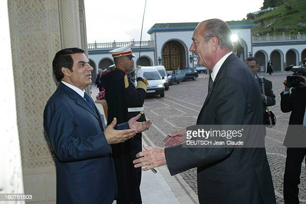 State Visit Of Jacques Chirac In Tunisia Visite officielle de Jacques CHIRAC en Tunisie 34 décembre 2003 Carthage palais présidentiel 4 décembre le...