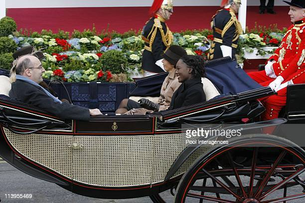 State visit of Nicolas Sarkozy in Windsor United Kingdom on March 26 2008Rachida Dati and Rama Yade