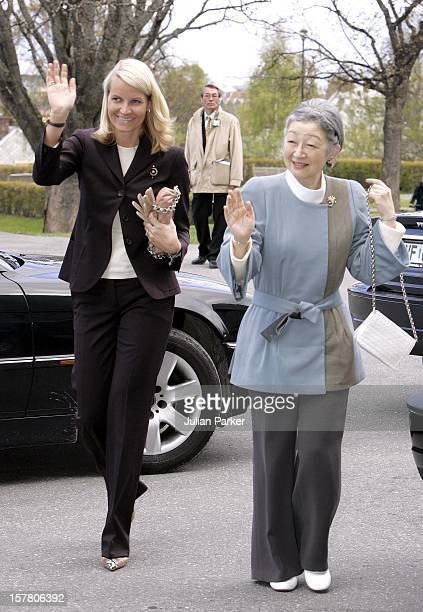 State Visit To Norway By Their Majesties Emperor Akihito Empress Michiko Of JapanVisit To The Norwegian University Of Science Technology In Trondheim...