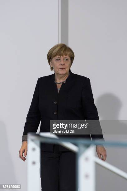 Statement of German Chancellor Angela Merkel on 14 November 2016 in the Federal Chancellery on the decision of the Union for candidacy of Foreign...