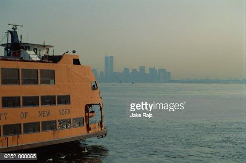 Staten Island Ferry near City