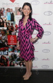 Stationary designer Bonnie Marcus attends the Diva Moms' Mom Moguls Breakfast at The Water Club Restaurant on May 7 2014 in New York City