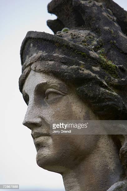 Statue at Roman Baths, close-up