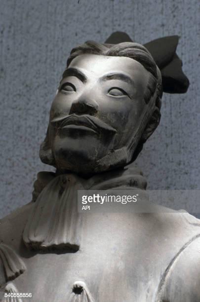 Statue de l'armée de terre cuite du mausolée de l'empereur Qin Chine