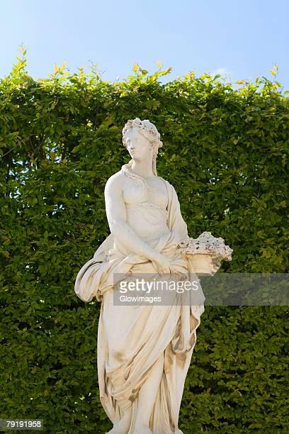 Statue in a park, Paris, France