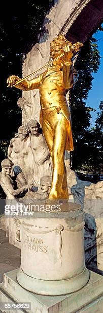 Statue in a public park