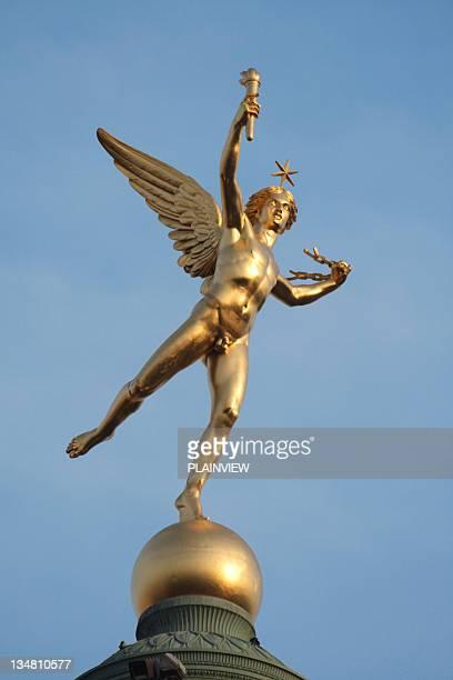 Statue de la place de la Bastille, à Paris
