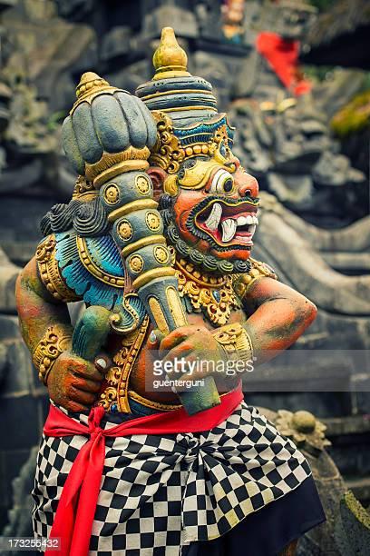 Statue of a goddess,  Pura Ulun Danu Batur Temple, Bali