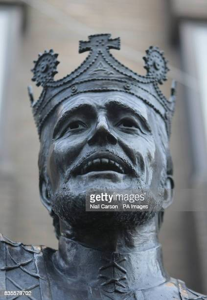 A statue of actor Richard Harris in Limerick city centre which depicts Harris in his role as King Arthur in the 1967 film 'Camelot'