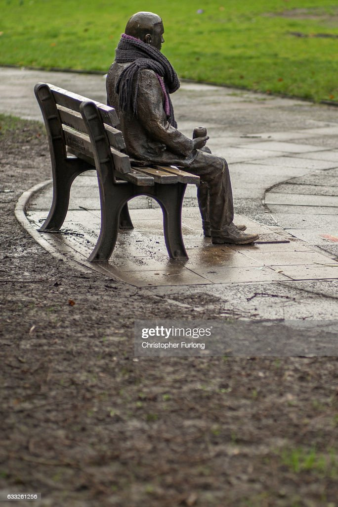 A statue of Alan Turing sits in Sackville Park in Manchester's Gay Village on February 1, 2017 in Manchester, England. Tens of thousands of people criminally convicted of homosexuality have been pardoned under the law known informally as the 'Alan Turing Law',the Sexual Offences Pardons Bill 2016-17. Alan Turing was a pioneering English computer scientist and mathematician whose groundbreaking work is thought to have brought WWII to an end four years early. Turing was sentenced to chemical castration after he admitted to 'acts of gross indecency' in 1952. He was found dead from cyanide poisoning in 1954 with a half-eaten apple by his side. An inquiry concluded that it was suicide.