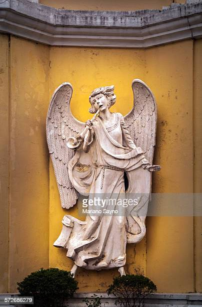 Statue of Angel with Trumpet
