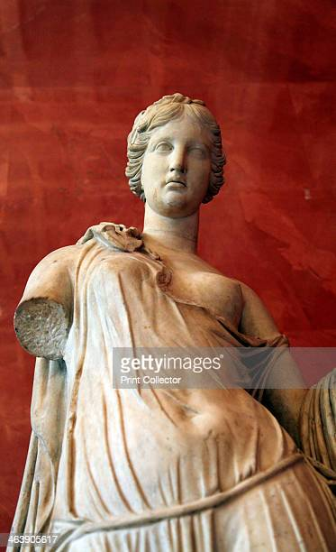 Statue of Aphrodite Goddess of Beauty and Love Roman after a Greek model of 3rd2nd century BC The Roman equivalent of Aphrodite was Venus Found in...