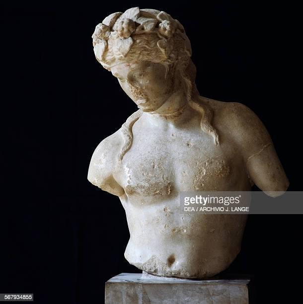 Statue of Apollo or Dionysus Tunisia Roman civilisation
