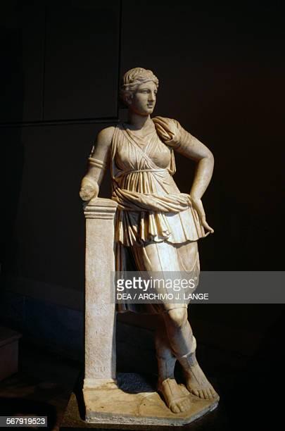 Statue of Artemis from Lesbos Greece 2nd3rd century Istanbul Arkeoloji Muzerleri