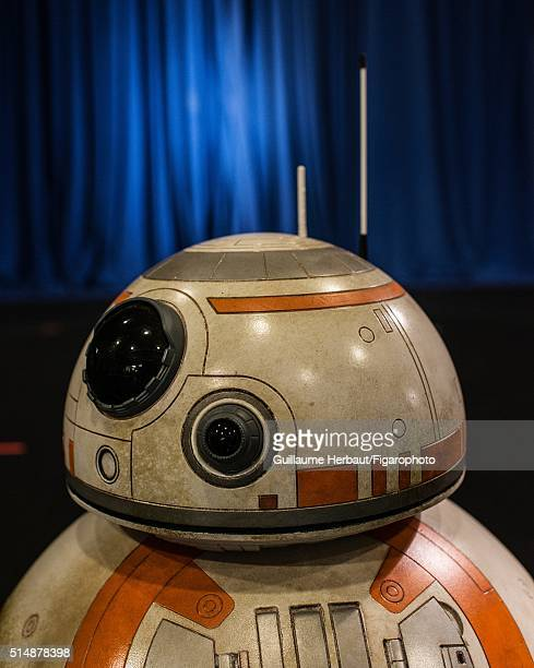 Statue of BB8 is photographed for Le Figaro Magazine on November 25 2015 at Industrial Light Magic in San Francisco California CREDIT MUST READ...