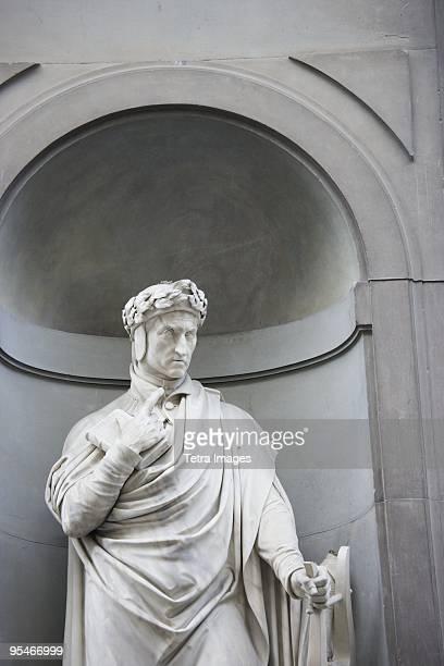 Statue of Dante Alighiere Italy