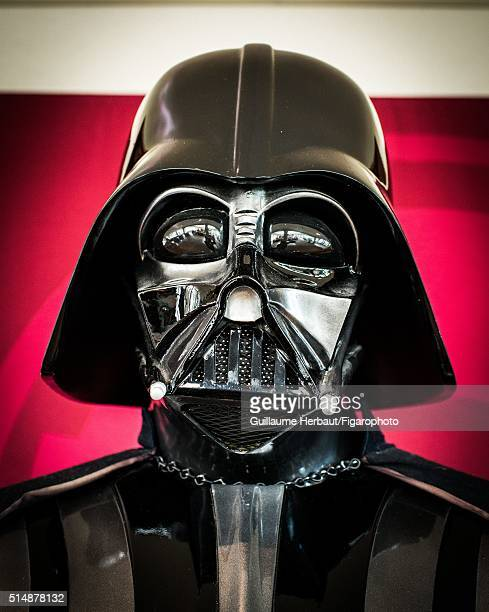 Statue of Darth Vader is photographed for Le Figaro Magazine on November 26 2015 at Industrial Light Magic in San Francisco California CREDIT MUST...