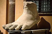 Statue of foot