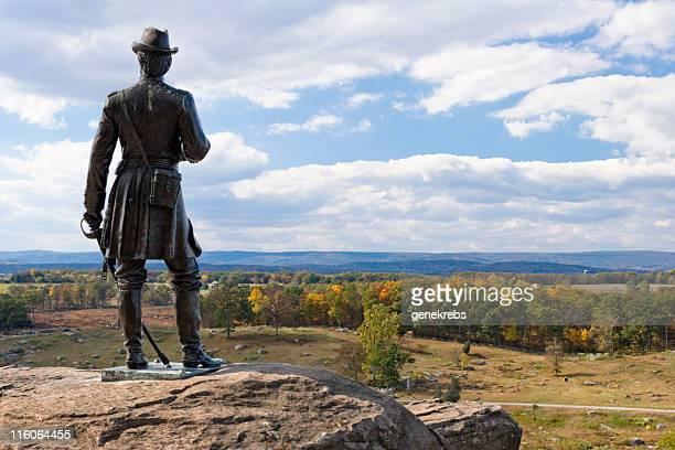Statue of General Warren at Little Round Top