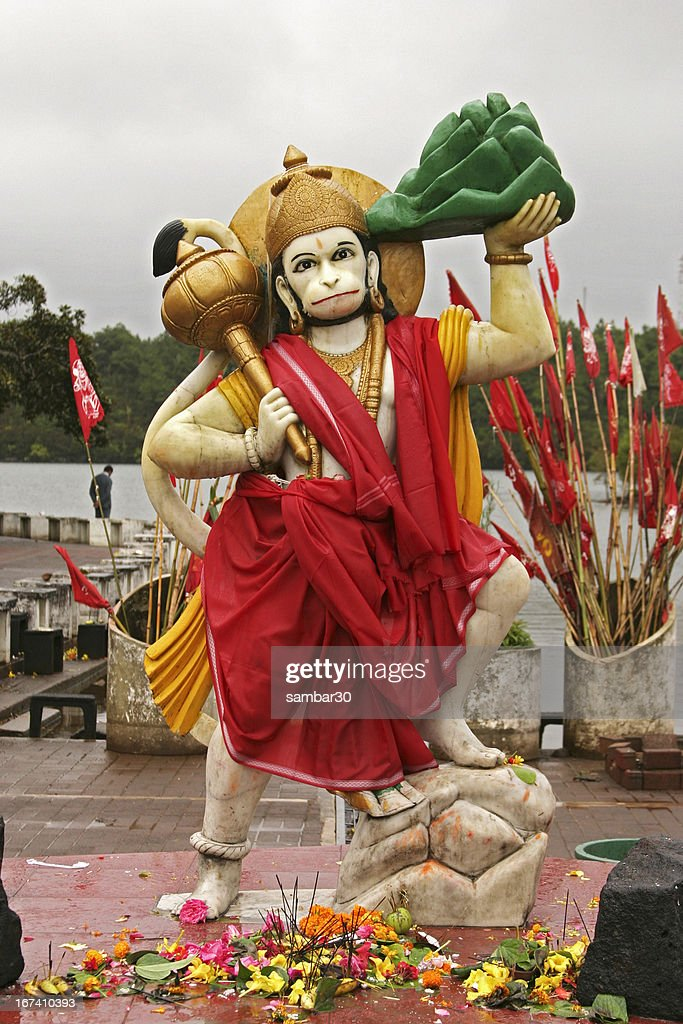 Statue of Hanuman : Stock Photo