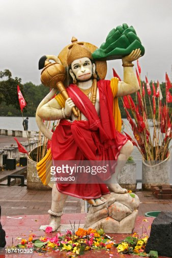 Statue of Hanuman : Stock-Foto