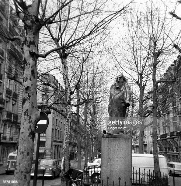 Statue of Honore de Balzac by Auguste Rodin Paris