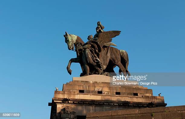 Statue Of Kaiser Whilhelm 1 On Horseback