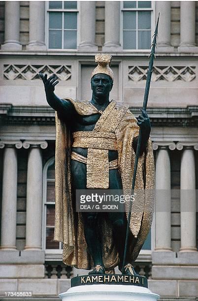 Statue of King Kamehameha I by Thomas Gould Honolulu Oahu Hawaii United States
