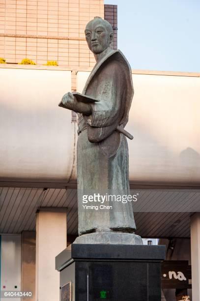 Statue of Komatsu Kiyokado