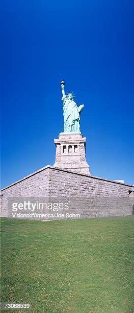 'Statue of Liberty and pedestal, New York'