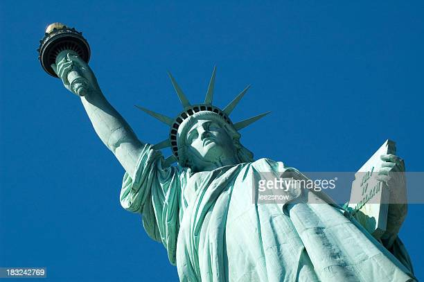 Statue of Liberty - Face, Torch, Tablet
