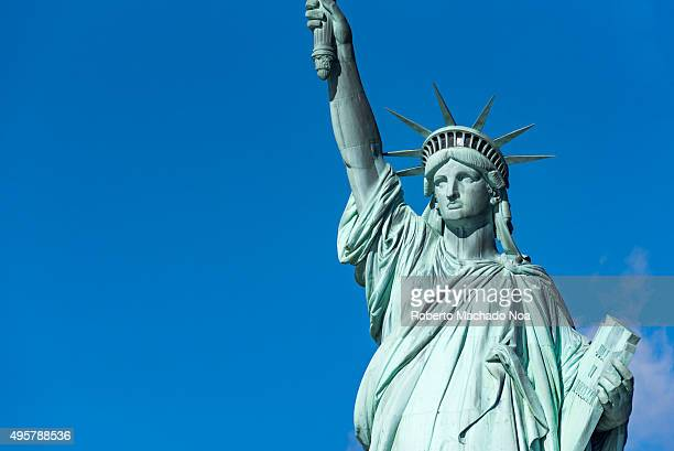 Statue of Liberty in New York City a major tourist landmark in the Big Apple The Statue of Liberty or Liberty Enlightening the World is a colossal...