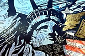 A close look at the donated mural May 9 at Bagram Airfield, Afghanistan, reveals the messages and signatures of the well-wishers, many of whom are former service members from all branches of the milit