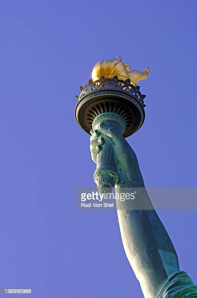 Statue Of Liberty torch and arm.