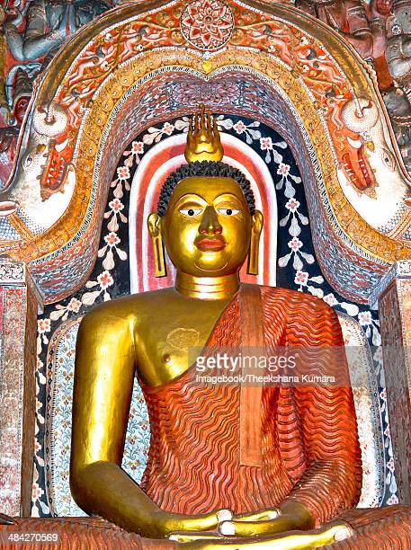 Statue of Lord Buddha at Lankatilaka Temple