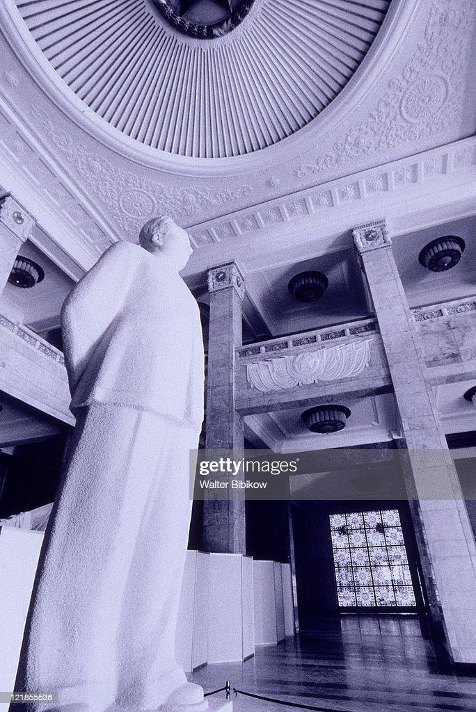 Statue of Mao Zedong, Beijing, China : Stock Photo
