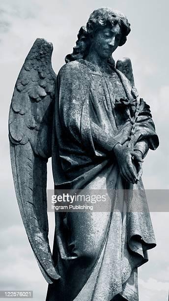 Statue of merciful angel.
