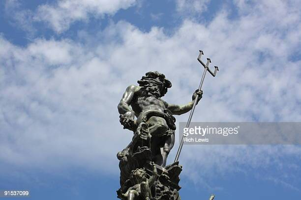 Statue of Neptune with Trident